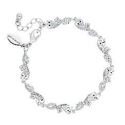 Jon Richard - Rose cubic zirconia bracelet