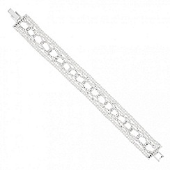 Jon Richard - Diamante crystal and polished bead bracelet