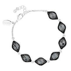 Jon Richard - Silver night crystal lemon fancy bracelet MADE WITH SWAROVSKI ELEMENTS