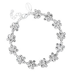 Alan Hannah Devoted - Designer crystal cluster link bracelet