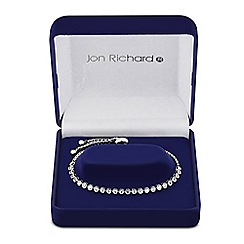 Jon Richard - Round cubic zirconia friendship bracelet