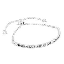 Jon Richard - Crystal embellished bar friendship bracelet