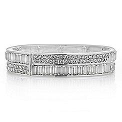 Jon Richard - Crystal baguette stretch bracelet