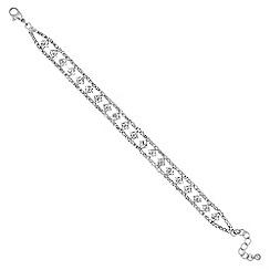 Jon Richard - Diamante crystal multi square bracelet