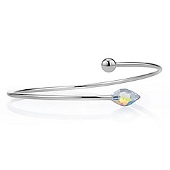 Jon Richard - Aurora boreolis bangle MADE WITH SWAROVSKI CRYSTAL