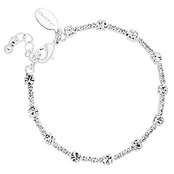 Jon Richard - Diamante crystal bar link bracelet