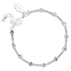 Jon Richard - Diamante crystal bar link bracelet