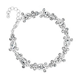Jon Richard - Crystal bubble link bracelet