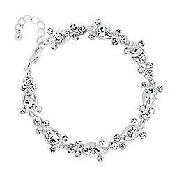 Jon Richard - Crystal bubble link bracelet