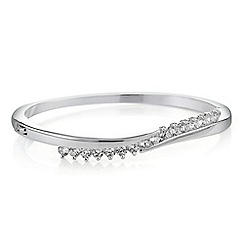 Jon Richard - Cubic zirconia twist bangle