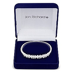 Jon Richard - Ivy cubic zirconia bangle