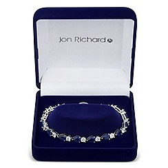 Jon Richard - Cubic zirconia statement teardrop bracelet
