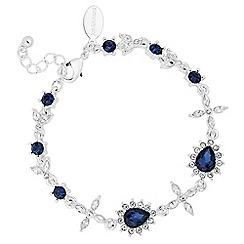Jon Richard - Kate blue crystal bracelet