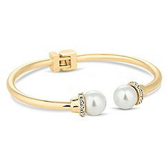 Jon Richard - Pearl end hinge bangle