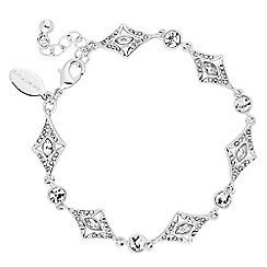 Alan Hannah Devoted - Designer art deco crystal bracelet