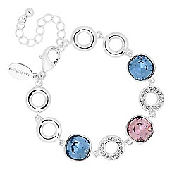Jon Richard - Crystal circle bracelet MADE WITH SWAROVSKI CRYSTALS