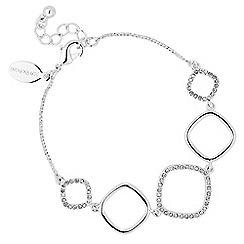 Jon Richard - Pave crystal geometric bracelet