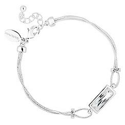 Jon Richard - Crystal baguette bracelet MADE WITH SWAROVSKI CRYSTALS