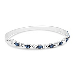 Jon Richard - Blue navette crystal bangle