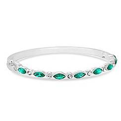 Jon Richard - Green navette crystal bangle