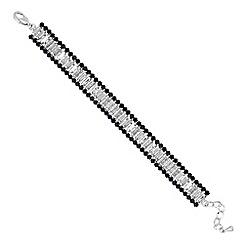 Jon Richard - Blue crystal baguette bracelet