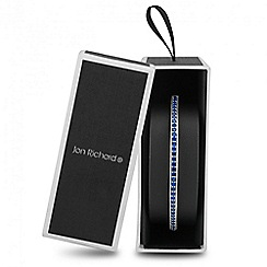Jon Richard - Blue cubic zirconia toggle bracelet