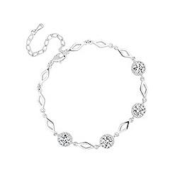 Jon Richard - Silver clara station bracelet