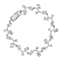 Alan Hannah Devoted - Alan Hannah Devoted Athena silver cubic zirconia bracelet