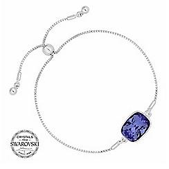 Jon Richard - Purple crystal bracelet MADE WITH SWAROVSKI CRYSTALS