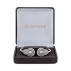 Jon Richard - Peardrop swirl bangle