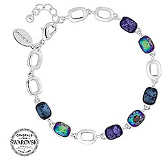 Jon Richard - Purple tonal crystal bracelet MADE WITH SWAROVSKI CRYSTALS
