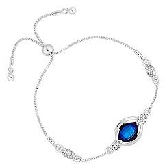 Jon Richard - Bermuda blue lemon fancy bracelet MADE WITH SWAROVSKI CRYSTALS