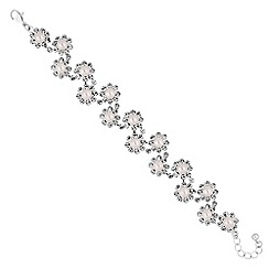 Jon Richard - Floral pearl bracelet