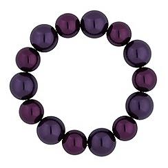 Jon Richard - Tonal purple pearl bracelet
