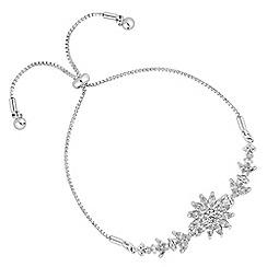Alan Hannah Devoted - Designer floral burst toggle bracelet