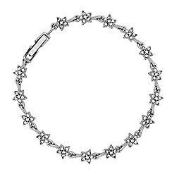 Jon Richard - Crystal star link bracelet