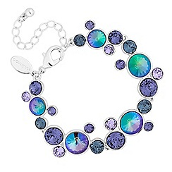 Jon Richard - Rivoli cluster bracelet created with swarovski crystals