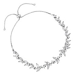 Alan Hannah Devoted - Lily cubic zirconia pear drop toggle bracelet