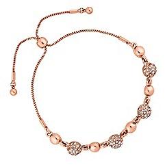 Jon Richard - Pave ball toggle bracelet