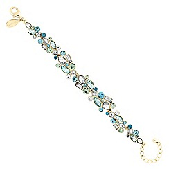 Jon Richard - Tonal green crystal bracelet