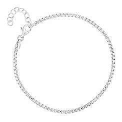 J by Jasper Conran - J by Jasper Conran - Designer sterling silver box chain bracelet