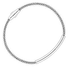 J by Jasper Conran - J by Jasper Conran - Designer sterling silver magnetic bar bracelet
