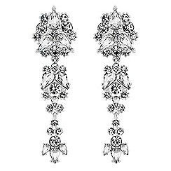 Lipsy - Statement crystal drop earrings