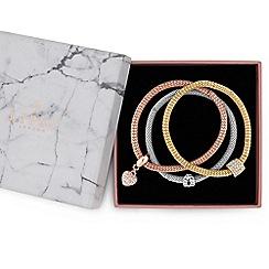 Lipsy - Multi tone gift bracelet
