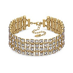 Lipsy - Crystal statement necklace