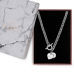 Lipsy - Heart charm gift necklace