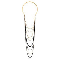 Lipsy - Draped multichain torque necklace