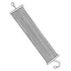 Lipsy - Slinky chain multirow bracelet