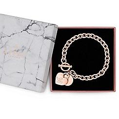 Lipsy - Heart charm gift bracelet