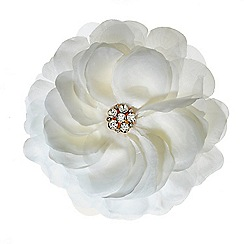 Mood - Layered cream floral corsage
